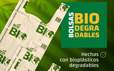 ¿Escuchaste hablar de las bolsas biodegradables? 🛍️